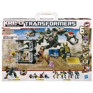 KRE-O (クレオ) Transformers (トランスフォーマー) Destruction Site Devastator Set (36951)