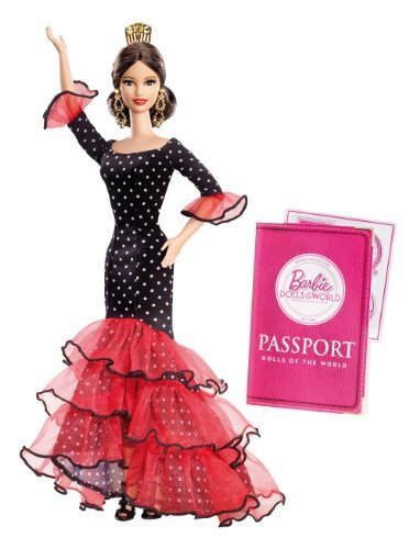 Barbie Collector Dolls of The World-Spain Doll by Barbie