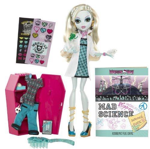 輸入モンスターハイ人形ドール Monster High Classroom Playset And Lagoona Blue Doll