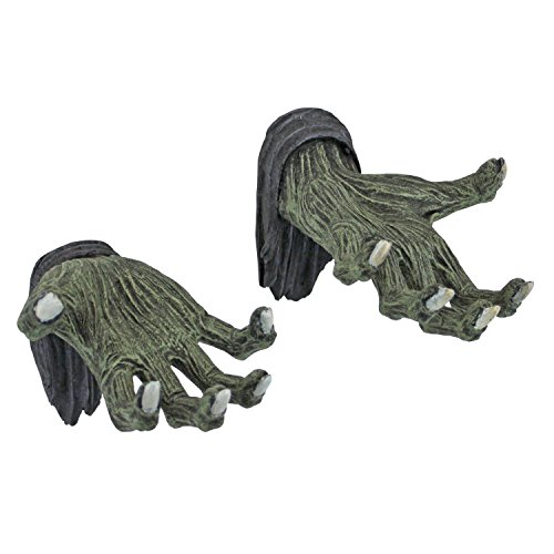 Design Toscano Hands of the Undead Zombie Wall Sculpture