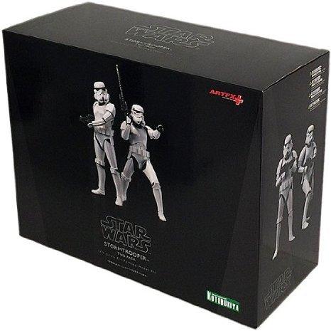 Kotobukiya Star Wars (スターウォーズ) : Stormtrooper ArtFX+ Statue 2-Pack フィギュア おもちゃ 人形
