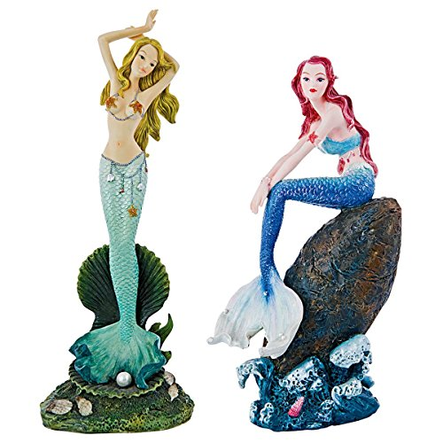 Design Toscano Melody Cove Mermaid Collection, Full Color