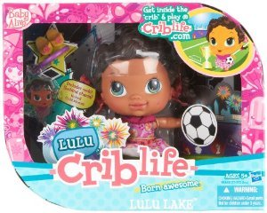 Baby Alive (ベビーアライブ) Crib Life Fashion Play Doll - Lulu Lake ドール 人形 フィギュア