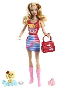 Barbie(バービー) Fashionistas Summer Doll and Pet ドール 人形 フィギュア