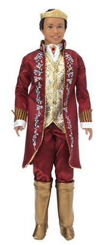 バービー Barbie as The Princess and The Pauper: Ken ケン as King Dominick and Tutor Julian Doll (A