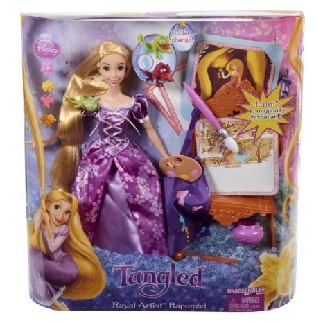 Disney (ディズニー)Tangled Royal Artist Rapunzel Doll ドール 人形 フィギュア