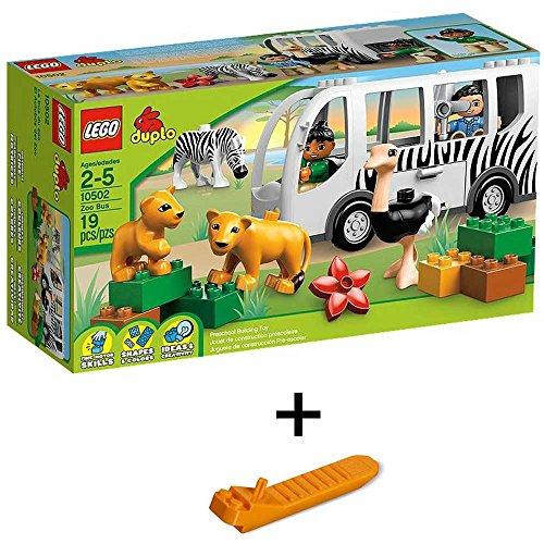 レゴ デュプロ どうぶつえんバス 10502 + レゴ 630 ブロックはずし(プレゼントし)