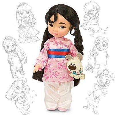 Disney Princess Animators Collection 16 Inch Doll Figure Mulan おもちゃ