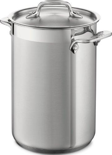 59905 スチーマーバスケット アスパラポット(3.75クォート) All-Clad社 Silver