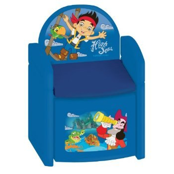 Disney Jake and The Neverland Pirates Treasure Hunt Sit N' Store Chair おもちゃ