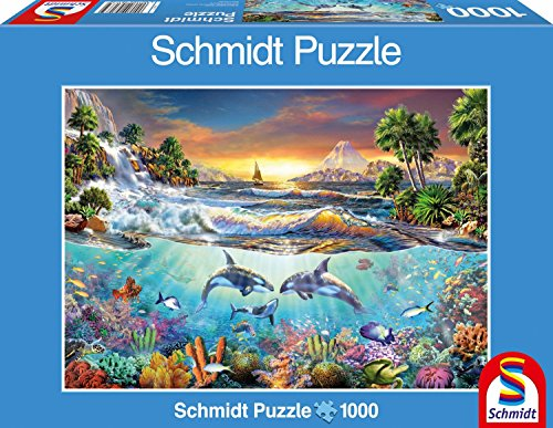 Underwater Paradise Jigsaw Puzzle, 1000-Piece