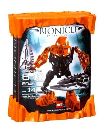おもちゃ Lego レゴ Bionicle Series Set # 8946 - Photok with Yellow Eyes, Rocket Booster and Twin P