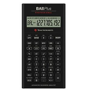 Texas Instruments IIBAPRO/CLM/4L1/A TI BA II Plus Pro Calculator by Texas Instruments