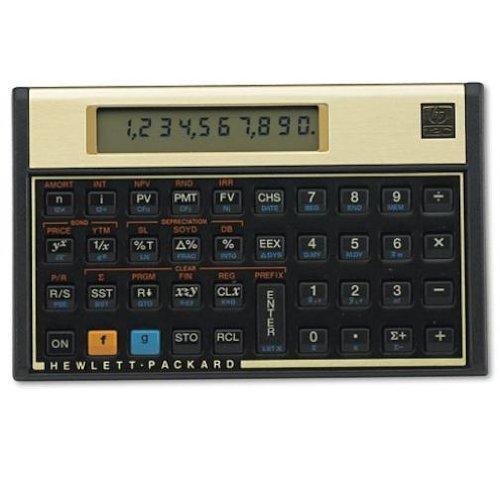 HP 12c 金融電卓 金色盤