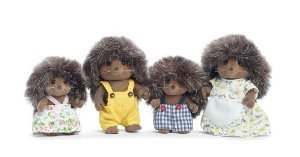 Calico Critters Pickleweeds Hedgehog Family