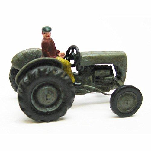 Design Toscano Earth Mover Replica Cast Iron Farm Toy Tractor, Multicolored