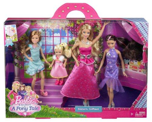バービー・Mattel Barbie Y7562「バービーと彼女の姉妹」