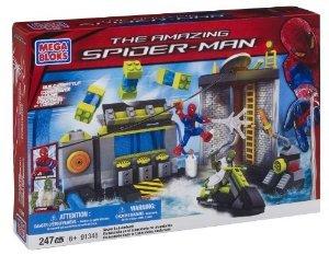 Mega Bloks (メガブロック) Spiderman (スパイダーマン) 4 Sewer Lab HQ ブロック おもちゃ
