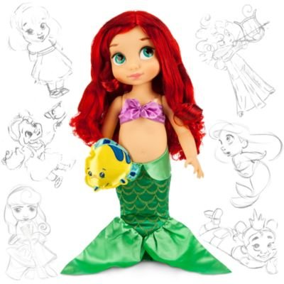 ディズニー(Disney)US公式商品 リトルマーメイド アリエル Ariel プリンセス 人形 ドール フィギュア お