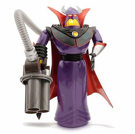 Disney(ディズニー) Emperor Zurg Talking Action Figure - 15'' トイストーリー悪の帝王ザーグ トーキン
