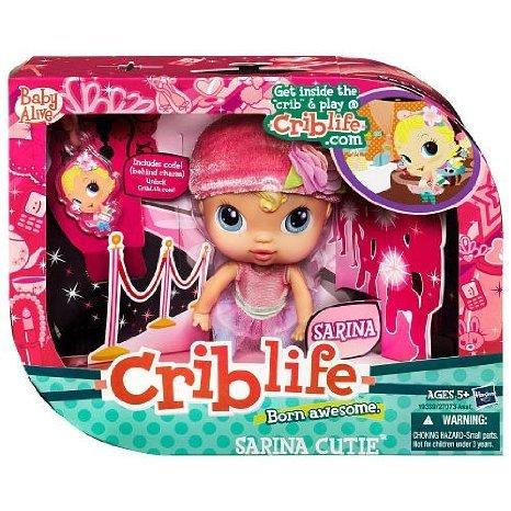 Baby Alive (ベビーアライブ) Crib Life Fashion Play Doll - Sarina Cutie ドール 人形 フィギュア