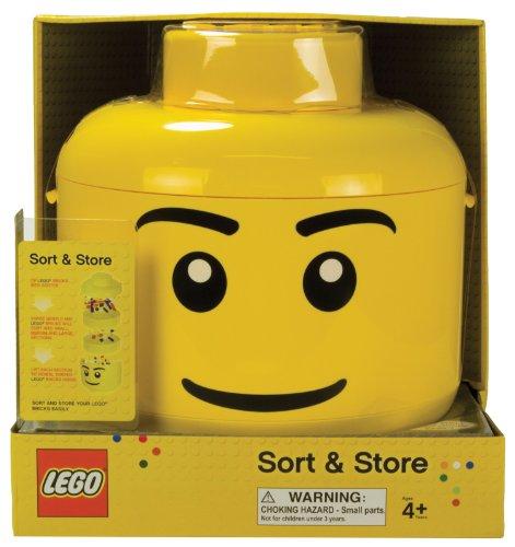 日本未発売 LEGO レゴ 分類ケース ジャンボ フィギュア