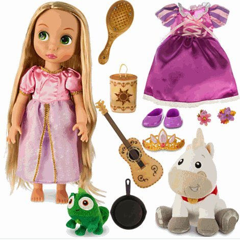 Disney(ディズニー) Rapunzel Doll Gift Set - Disney Animators' Collection ラプンツェルの人形のギフ