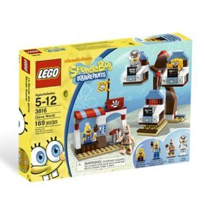 LEGO (レゴ) SpongeBob (スポンジボブ) Glove World 3816 ブロック おもちゃ