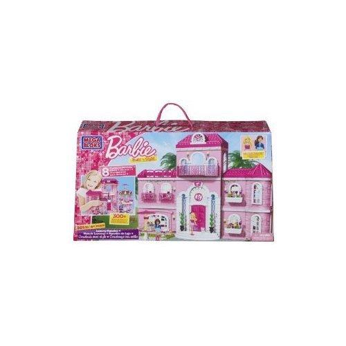 Mega Bloks (メガブロック) Barbie (バービー) Luxury Mansion ブロック おもちゃ