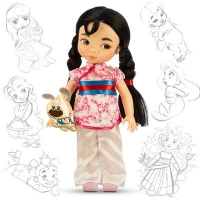 ディズニー(Disney)US公式商品 ムーラン プリンセス 人形 ドール フィギュア おもちゃ アニメーターズ コ