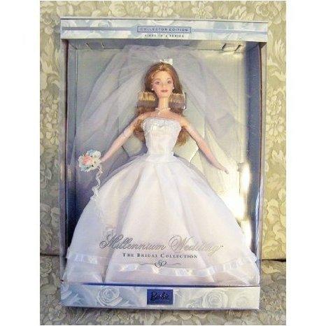 1999 Millennium Wedding Barbie(バービー) (Blonde) ドール 人形 フィギュア