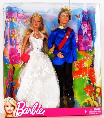 Barbie Fairytale Wedding Doll Set by Barbie