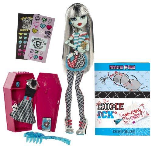 輸入モンスターハイ人形ドール Monster High Classroom Playset And Frankie Stein Doll
