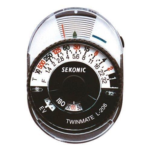 セコニック Mate Sekonic L-208 Twin Mate Light Meter L-208 (Black Light/White), ナガオカキョウシ:ad7ebb25 --- officewill.xsrv.jp