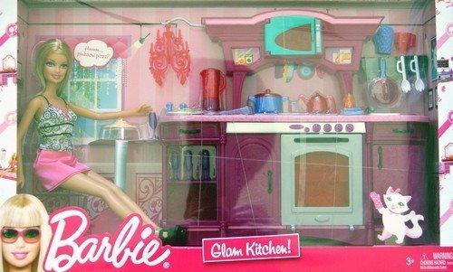 バービー Barbie Glam Kitchen! Play Set [Large Box Play Set] ドール 人形 フィギュア