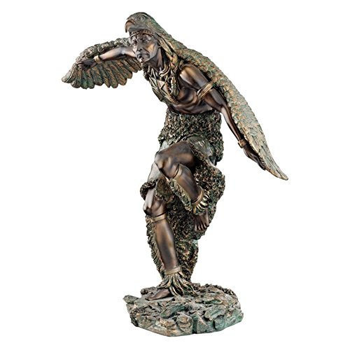 Design Toscano 12 in. The Eagle Dancer Sculpture