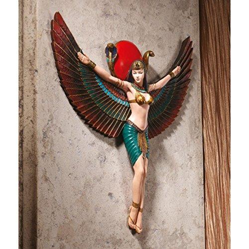 Design Toscano Goddess Isis Wall Sculpture
