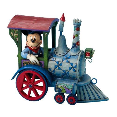 人気のディズニー★ミッキー トレイン ドールコレクション Disney 4016585 Enesco社