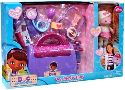 Disney Doc McStuffins Doctor's Bag Play Set with Lambie Doll by DISNEY
