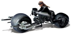 Moebius The Dark Knight Rises: Batpod with Catwoman 1:18 Model Kit フィギュア おもちゃ 人形