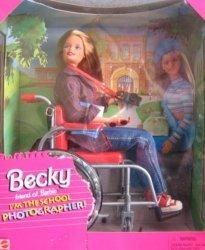 バービー Becky I'm the スクール Photographer