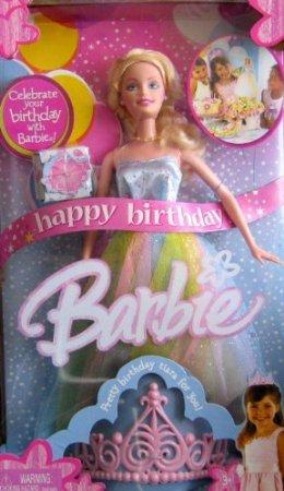 Happy Birthday Barbie(バービー) Doll w Birthday Tiara For You! (2005) ドール 人形 フィギュア