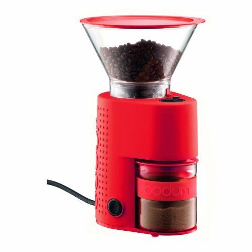 キッチンインテリアと機能を兼ねた逸品★ダブルグラス方式で、コーヒー末が静電気でボディ内部に飛散する
