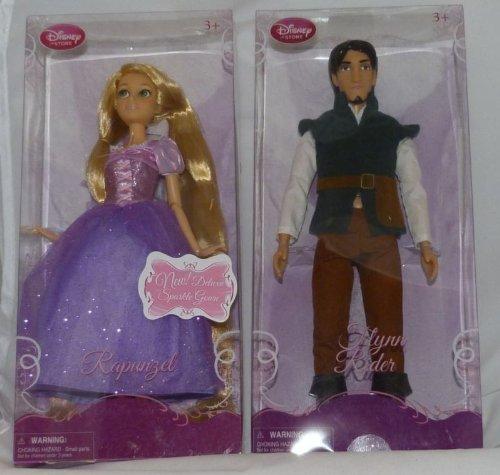 おもちゃ Disney ディズニー Store Tangled 12'' Rapunzel ラプンツェル & Flynn Rider Doll ドール Set