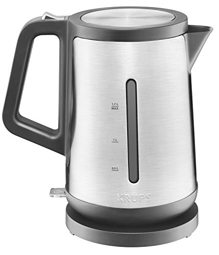 KRUPS BW442D Control Line Electric Kettle with Auto Shut off and Stainless steel Housing, 1.7 L, S