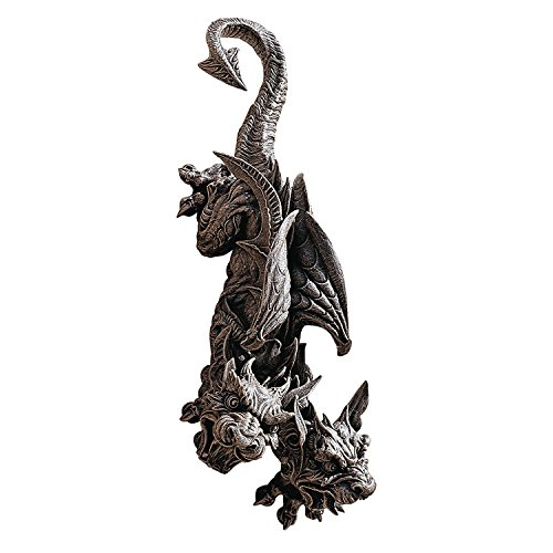 Design Toscano Double Trouble Hanging Gargoyle Sculpture
