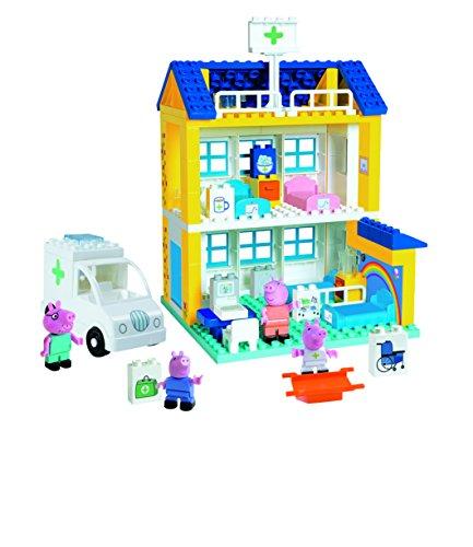 【保障できる】 Peppa Peppa Pig(ペッパ・ピッグ) ブロックで作る! ホスピタル・ビルディングセット, ニッチエクスプレス:d04333ef --- canoncity.azurewebsites.net