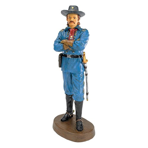 Design Toscano General George Armstrong Custer Sculpture 1839-1876