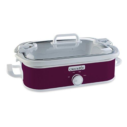 SCCPCCM350-CR Casserole Crock Slow Cooker スロークッカー(3.3L) Crock-Pot社 Cranberry