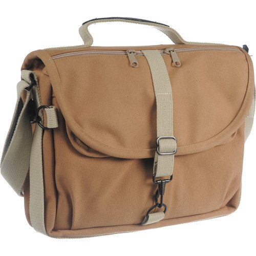 DOMKE F-802 Reporter's Satchel Shoulder Bag Sand